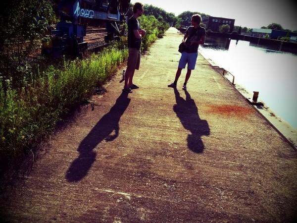 Walk durch den Hafen