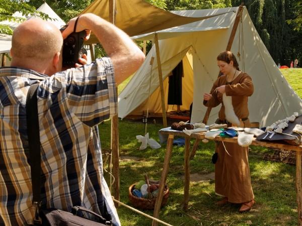 Einzelcoachings auf dem Mittelaltermarkt